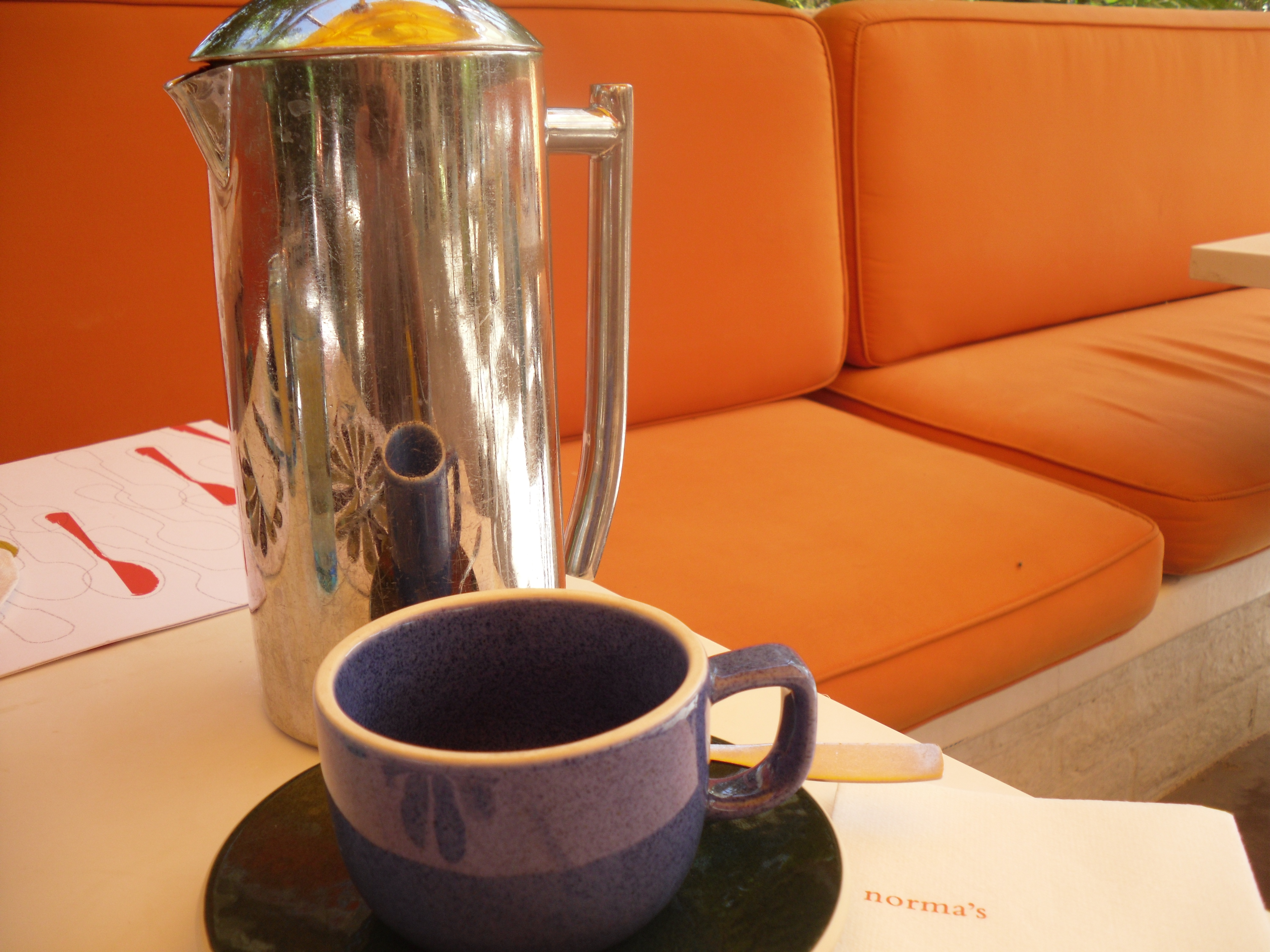 Palm French Press Coffee Maker : norma s at LeParker Meridien Palm Springs Coffee Snobology
